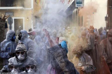 فستیوال جدید پودرهای رنگی در کشور یونان