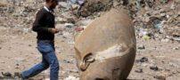 باستان شناسان توانستند مجسمه فرعون را در مصر پیدا کنند (عکس)