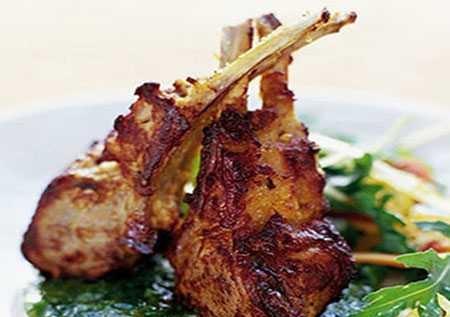 آموزش پخت چلو گوشت بره به صورت کباب شده بسیار لذیذ