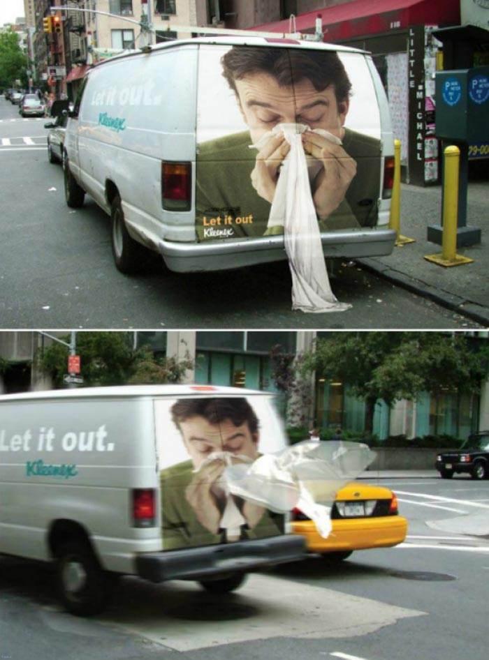 عکس های جالب از تبلیغات هوشمندانه و زیبا
