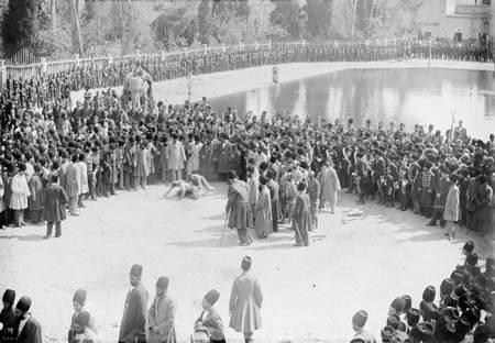 تصاویر دیدنی از عید نوروز در زمان قاجار
