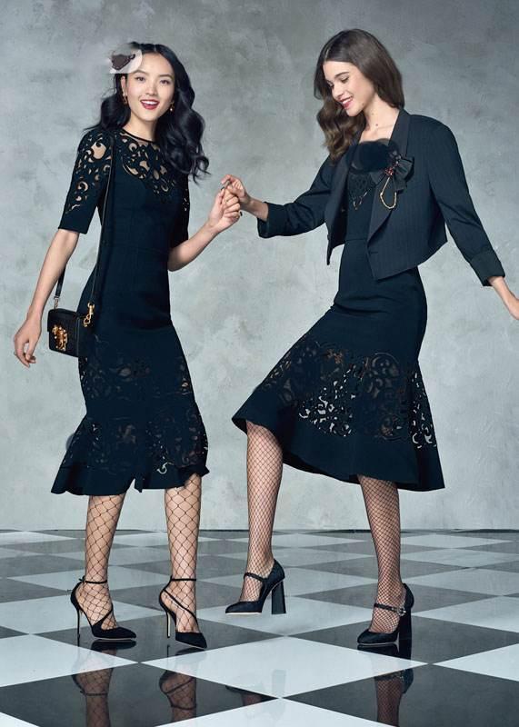 آشنایی با جدید ترین لباس های مجلسی زنانه در برند دولچه گابانا 2017