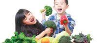 کودکان را به خوردن سبزیجات تشویق کنید !
