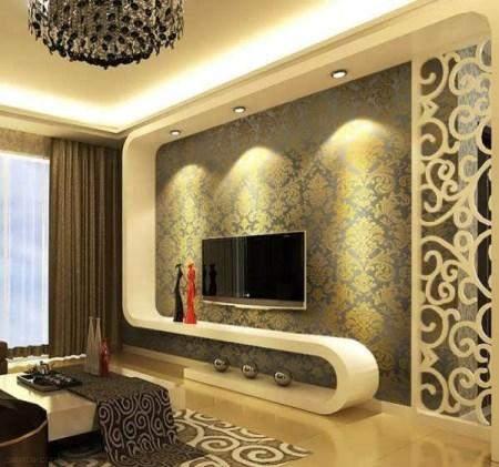 مدل کاغذ دیواری برای پشت تلویزیون های LCD