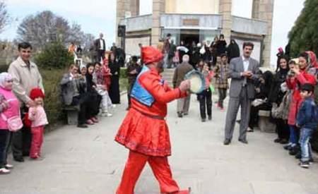 تصاویری دیدنی از حاجی فیروز در یکی از شهرهای ایران