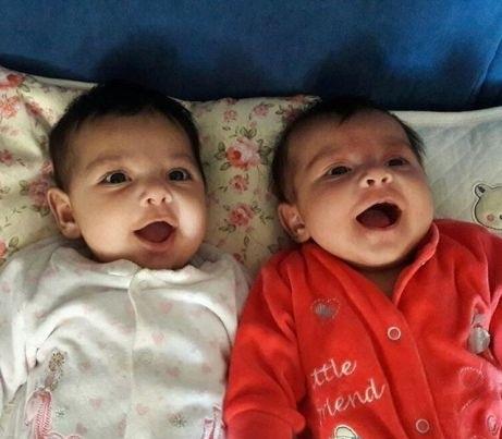 تصاویری از دو فرزند یکتا ناصر و خواهرش نیکیتا ناصر