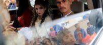 زوج جوانی که در حین جنگ موصل ازدواج کردند (عکس)