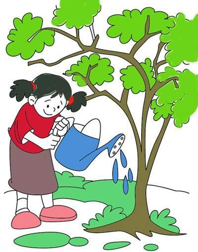 سری جدید نقاشی کودکان مخصوص روز درختکاری (15)