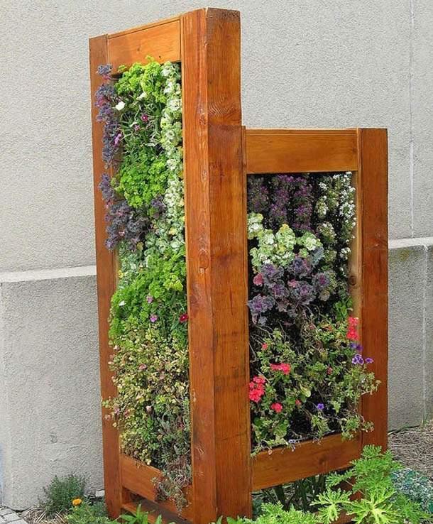 تصاویری زیبا و خلاقانه از تزئینات و درست کردن فضای سبز خانه