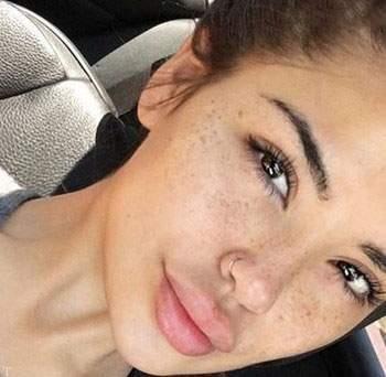 گزارشی از عکس های دختران جذاب بدون آرایش در جهان