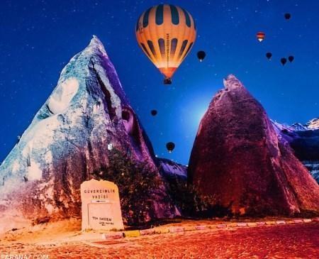 فستیوال تماشایی بالن ها در آسمان ترکیه (+عکس)