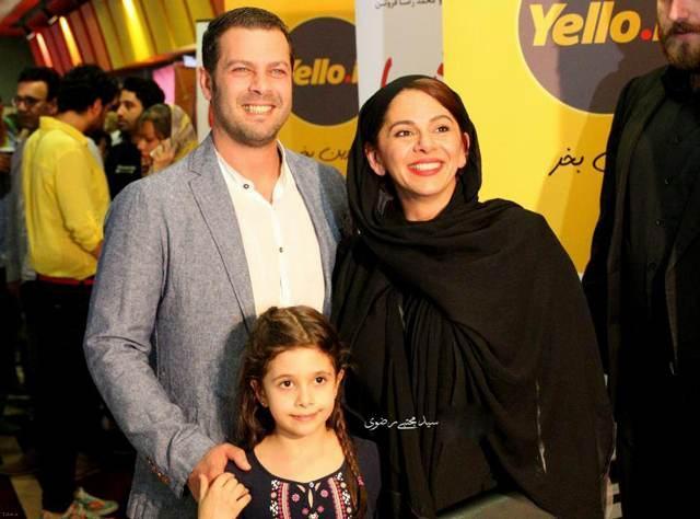 گالری عکس های خانوادگی پژمان بازغی به همراه همسر زیبایش