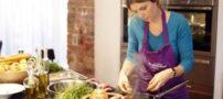 رابطه ی پوست و آشپزی برای بانوان و آقایان