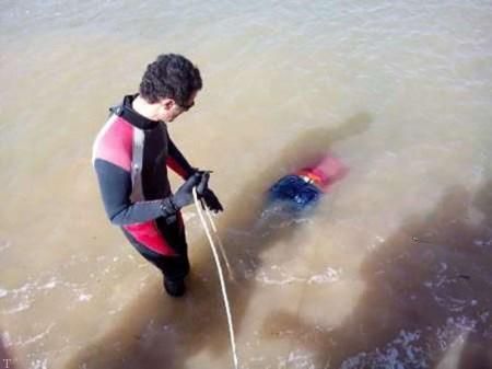 خودکشی وحشتناک و پیدا شدن جسد دختر در دریاچه مریوان (+عکس)