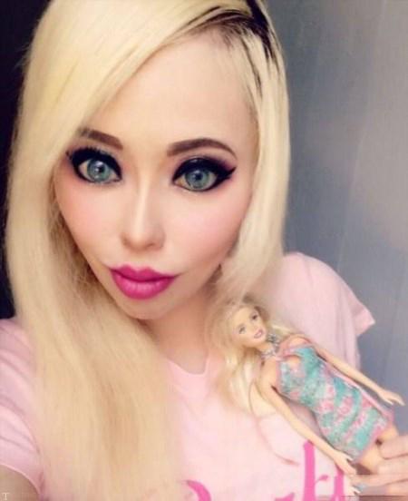 اولین دختر باربی جهان (عکس)