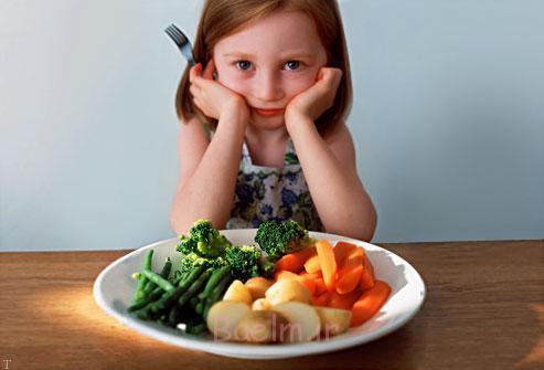 نکات مهم برای کودکانی که کم اشتها هستند