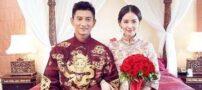 2 بازیگر چینی به ساده ترین نحو ازدواج کردند (عکس)