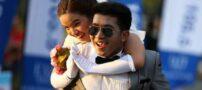 عکس های جالب از مسابقه دو عروس خانم و آقا داماد در تایلند