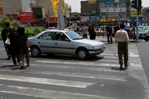 تصاویری از رانندگی ما ایرانیان در خیابان