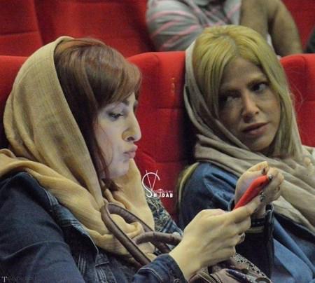 تصاویری از شقایق دهقان و خواهرش در جشنواره