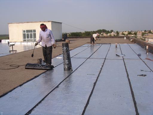 آموزش نصب ایزوگام در پشت بام خانه