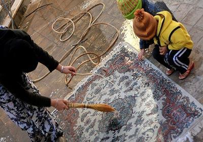 چگونه به بهترین نحو فرش ها را شستشو کنیم ؟