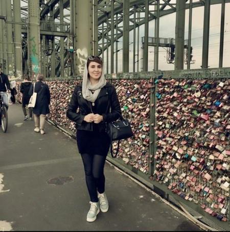 تیپ جدید لیلا بلوکات در سفر به آلمان (+تصاویر)