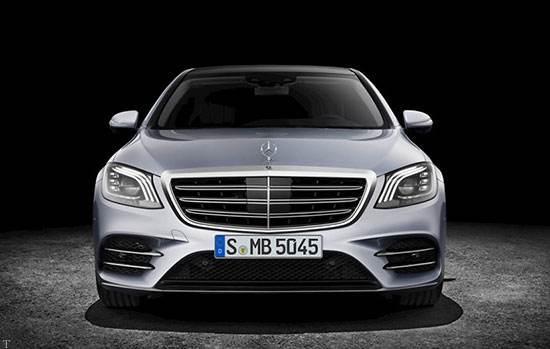 بررسی و مشخصات خودروی شیک مرسدس بنز S 2018