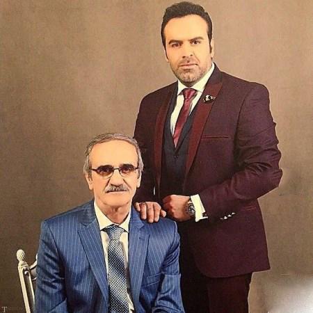 تصاویری از بازیگران در کنار پدرانشان به مناسبت روز پدر
