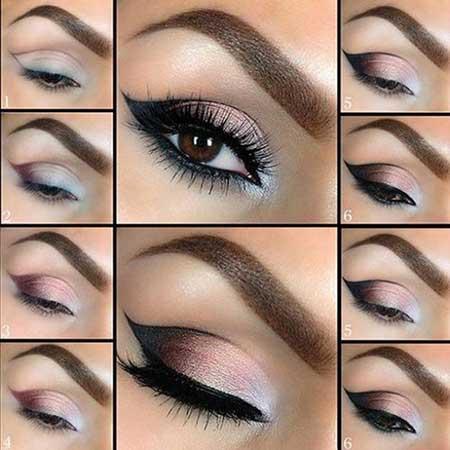 نمونه های جذاب آرایش چشم (20)
