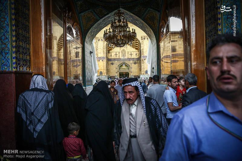 عکس هایی از نجف ، حرم امام علی (ع) در 13 رجب