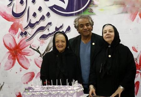 عکس های جالب قدردانی از بازیگران پیشکسوت سینمای ایران