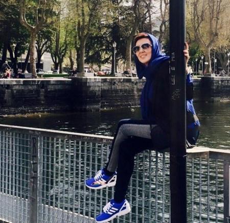 تیپ جدید لیلا بلوکات در سفر به آلمان «+تصاویر»