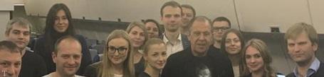 جشن تولد جالب وزیر خارجه روسیه در هواپیما + عکس