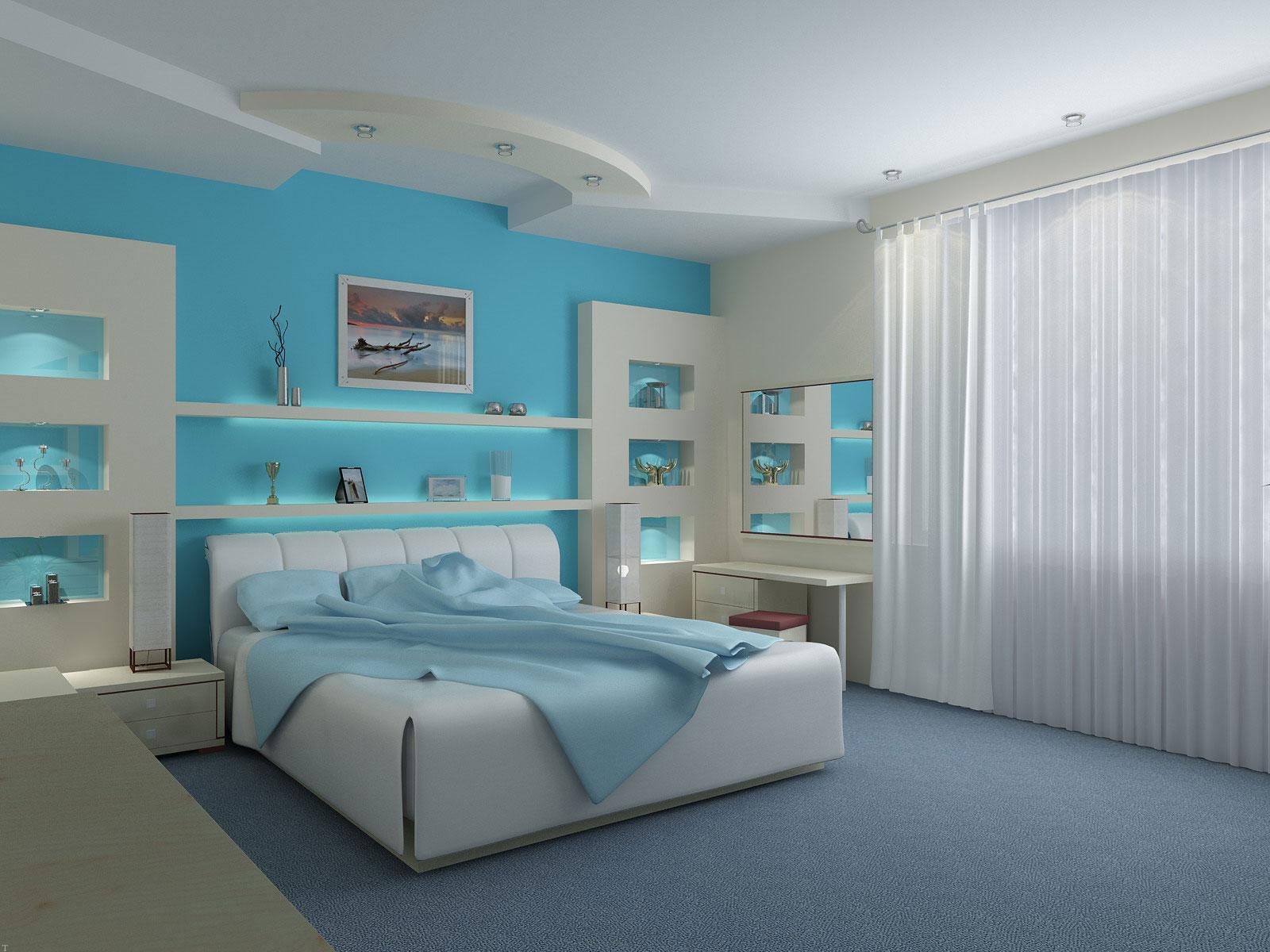 رنگ های مناسب برای تغییر دکوراسیون اتاق خواب