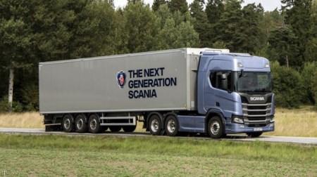 رونمایی از خودرو سنگین اسکانیا S730