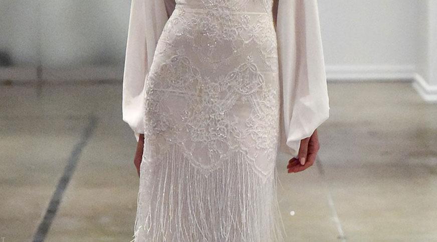 مدل های زیبا و جدید لباس عروس اروپایی-2
