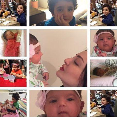 تصاویر جدید فرزندان خوشگل شیلا خداداد