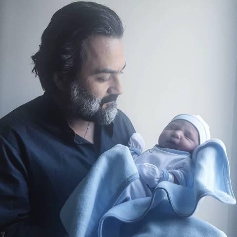 شعر عاشقانه یغما گلرویی برای نوزادش