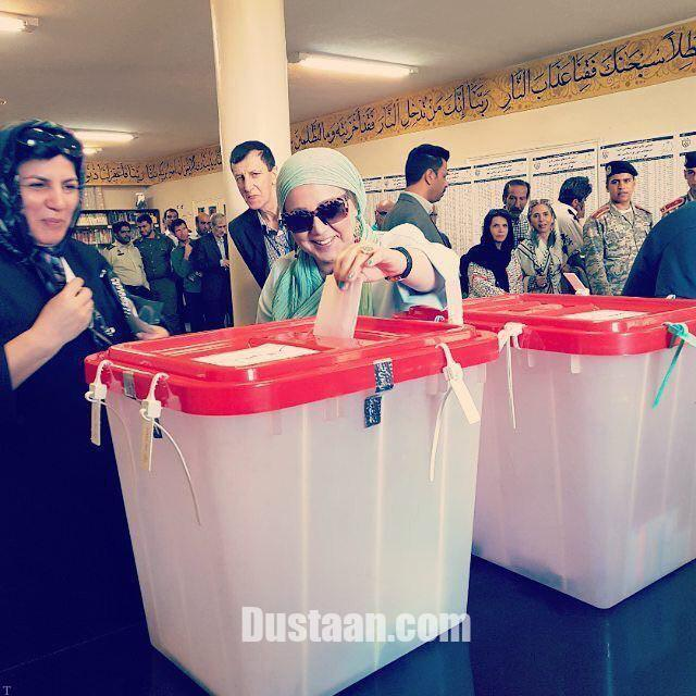 سری جدید عکس های بازیگران در پای صندوق های رای (31)