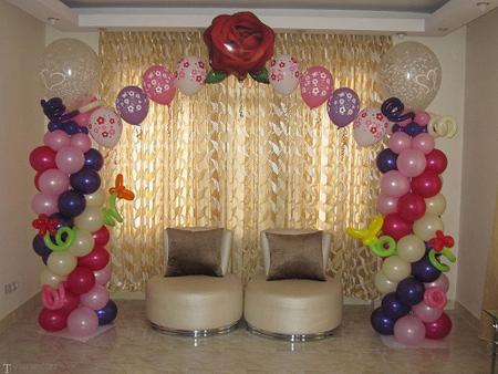 مدل دیدنی از تزیینات بادکنک در مراسم جشن ها و تولد