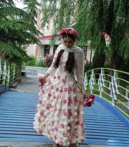 گزارشی داغ از عروسی بازیگر هانیه غلامی