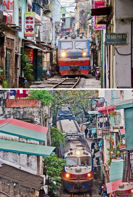 عکس های جالب و دیدنی مسیر حرکت قطارها