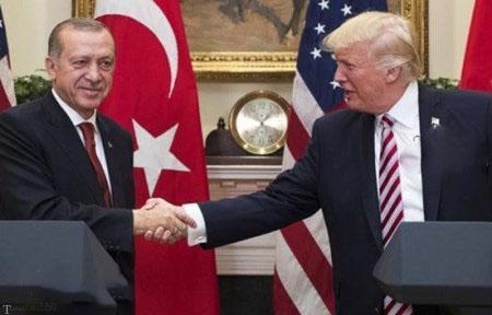 سفر اردوغان رئیس جمهور ترکیه به آمریکا و دیدار با ترامپ (تصاویر)