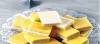 طرز پخت حلوای دو رنگ در ماه رمضان