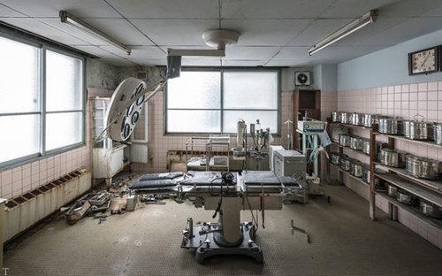 ساخت بیمارستانی ترسناک برای فیلم برداری