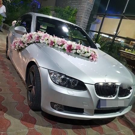 خودروی رایگان لوکس برای عروس و دامادهای تهرانی (عکس)