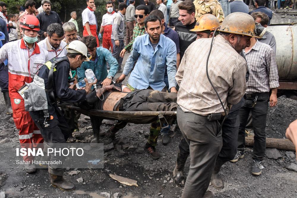 انفجار معدن سنگ و کشته شدن 35 معدنچی