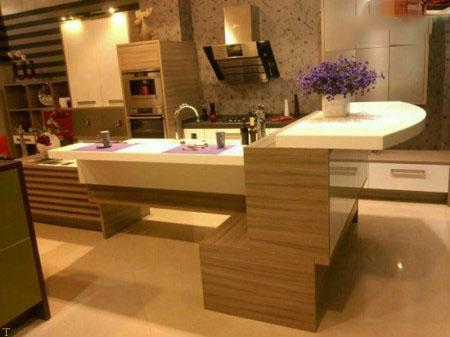 تغییر دکوراسیون مدرن آشپزخانه جذاب و خاص (3)