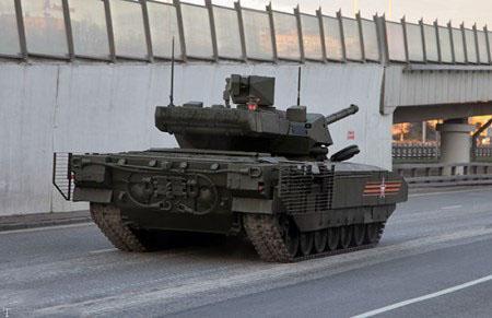 تانک 48 تنی قدرتمندترین تانک جهان در روسیه
